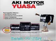 Aki Motor Selalu Fresh dari Yuasa