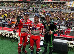 MotoGP Malaysia 2017: Dominasi Dovizioso